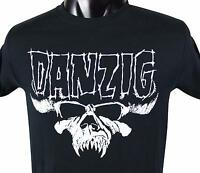 DANZIG 2015 North America TOUR T-SHIRT Small S Black Concert Tee Misfits Samhain