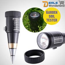 Soil Moisture Meter & pH Level Tester for Plants Crops flowers Vegetable Garden