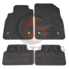 2012-2016 Cruze Genuine GM Front & Rear Carpet Floor Mats Black 22878591