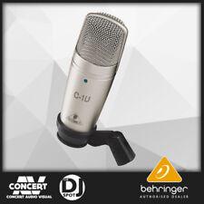 Behringer C1U Stereo USB Condener Mic BRAND NEW GENUINE