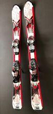 K2 AMP Strike Jr Kids 100cm Skis w/ Marker 4.5 Adjustable Bindings
