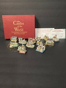 Castles Of The World Christmas Ornaments