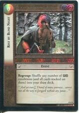 Lord Of The Rings CCG Foil Card TTT 4.R54 Rest By Blind Night