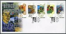 New Zealand 1361-1365 FDC.Michel 1497-1501. Rescue Services,1996.Helicopter.