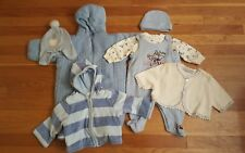 Mix and Match Baby Blue Super Cozy Winter Outfits for Your Baby Boy 3-6 Months