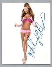 Aubrey O'Day Signed 8x10 Photo #24 Singer Playboy Blender Celebrity Apprentice 5