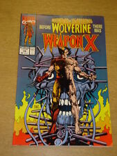 MARVEL COMICS PRESENTS #72 WOLVERINE 1ST WEAPON X MARCH 1991 X