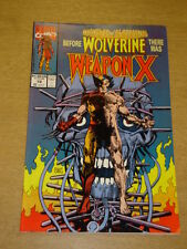 MARVEL COMICS PRESENTS #72 WOLVERINE 1ST WEAPON X MARCH 1991 X