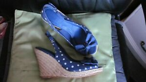 Zara☆Trafaluc☆polka espadrilles☆platform shoes☆high heels☆sandals☆wedges☆Spring!