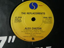 "THE REPLACEMENTS..ALEX CHILTON..PROMO ONLY 7"" ALTERNATIVE ROCK..MINTY STOCK COPY"