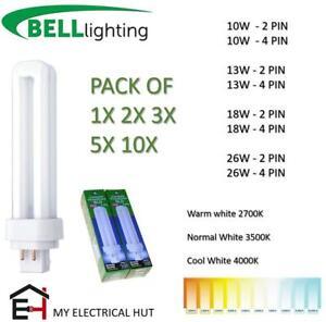 Bell BLD Double Turn G24d-1/G24q-2/G24d-3 CFL Compact Fluorescent Energy Saving
