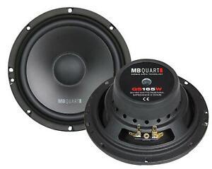 MB Quart QS165W 16,5 cm Tiefmitteltöner-Lautsprecher 180 Watt RMS: 90 Watt