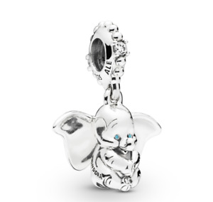 New Authentic PANDORA Disney Dumbo Dangle Charm S925 ALE Sterling Silver