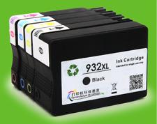 For HP 932 XL 933 XL4pcs Ink Cartridge Officejet 6100 6700 6600 7610 7612 7100