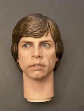 1/6 Hot toys Star Wars Luke Skywalker MMS517 Return Jedi Endor Head Sculpt