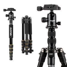 ZOMEI Pro Q666 Aluminum Travel Tripod Portable Monopod for DSLR Camera