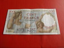 *Frankreich 100 Cent Francs Banknote 1942 (Alb3)(2)