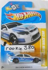 2012 Hot Wheels NEW MODELS #4 * FORD FALCON RACE CAR * WHITE BLUE OVAL CLASSIC