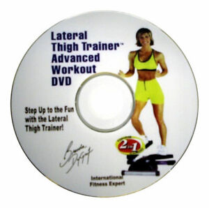 Stepper DVD For Lateral Thigh Trainer and Other Stepper