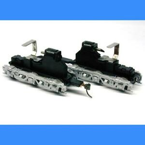 PB-1 SILVER UNPOWERED TRUCKS (PAIR) ATHEARN HO