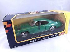 "Motor Max 1:24th Diecast Model Green 1969 Pontiac GTO ""The Judge"" NIB"