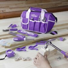 Women Tool Set 53 Piece Home Household Repair DIY Projects Ladies Hand Tools Kit