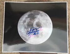 NASA APOLLO 16 CHARLIE DUKE AUTOGRAPHED 8x10 PHOTO HAND SIGNED No Reserve