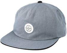 New Mens Kent Heathered Grey/Black Hat - Herschel Supply Company Adjustable