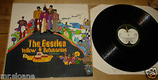 GEORGE MARTIN SIGNED BEATLES YELLOW SUBMARINE STEREO LP UACC REGISTERED DEALER