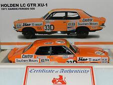 1 18 Bob Jane / John Harvey 1971 Bathurst LC Holden TORANA GTR Xu-1 Biante