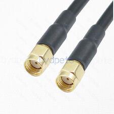 RP-SMA Macho a RP-Sma Macho Polaridad Inversa RG58 50ohm Cable Coaxial Coaxial Lote