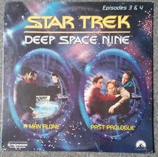 STAR TREK DEEP SPACE NINE 3 & 4 Laser Disc LD Laserdisc Disc Still sealt NEU OVP