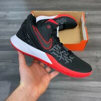 NIKE KYRIE FLYTRAP II BLACK RED BASKETBALL TRAINERS SIZE UK10 US11 EUR45