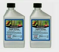 2 ~ Ferti-Lome TRIPLE ACTION Leaf-Eating Insect Control 16 oz CONCENTRATE 12245