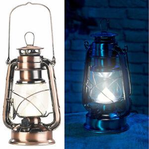 Campinglampe: Ultra helle LED-Sturmlampe mit Akku, 200 Lm, 3W, warmweiß, bronze