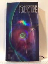 Vhs Star Trek The Next Generation 3 Movie Collection