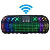 Mini I8 Wireless 2.4G Keyboard Touchpad Mouse LED for PC Smart TV Android TV Box