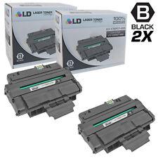 LD © Compatible Xerox 106R01486 Set of 2 Black Toner WorkCentre 3210 3220