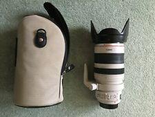 28-300mm F/3.5-5.6 Canon EF L LENTE USM IS buone condizioni revisionata di recente