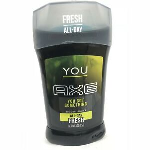 Axe Deodorant Stick for Men You Htf Scent 3 Ounce Brand New Solid