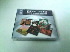 """STAN GETZ """"EIGHT CLASSIC ALBUMS"""" 4CD 53 TRACKS COMO NUEVO A STORYVILLE 1 2 CHAMB"""