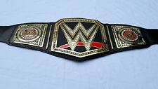 WWE World Heavyweight Champion Metal Replica Title Belt Adult Size with Free Bag