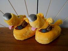 DOUG THE DOG pair of children's slippers size UK 7-8 EUR 24-26 UP Disney Store