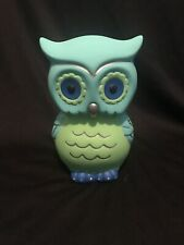 Hand Painted Owl Piggy Bank