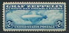 UNITED STATES C15 MINT VF LH $2.60 ZEPPELIN