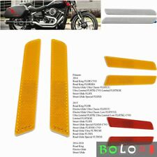 2x Reflector Reflective Sticker for Harley Road King Electra Glide Street Glide
