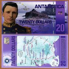 Antarctica, $20, Polymer, 30-8-2008, NEW, UNC Worsley
