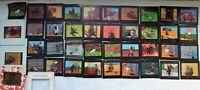 42  Diapositives TINTIN datant des années 60 offert par le papier RIZLA +