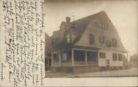 Home - Hartford CT Cancel 1906 Real Photo Postcard