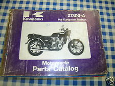 BB 99910-1036-02 catalogo ricambi  KAWASAKI Z1300-A  ediz. 1979